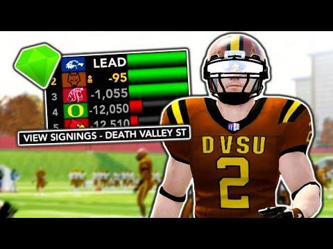 1st Recruiting Class in DVSU History!   NCAA 14 Dynasty Ep. 11 (S1)