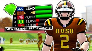 1st Recruiting Class in DVSU History! | NCAA 14 Team Builder Dynasty Ep. 11 (S1)