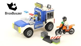 Lego Junior 10735 Police Truck Chase - Lego Speed Build