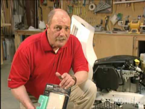 Lawn & Garden Webvision With Kohler Professional, Changing your Oil