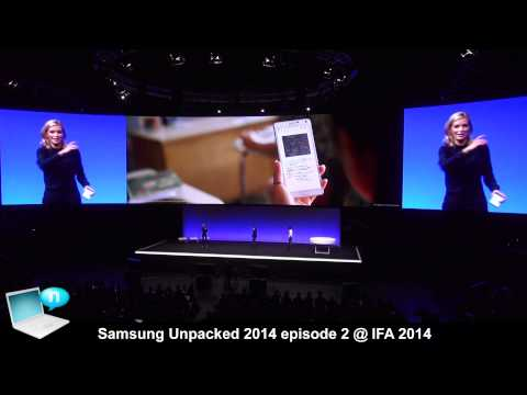 Samsung Unpacked 2014 episode 2 IFA Berlin 2014 - Galaxy Note 4, Gear VR, Gear S