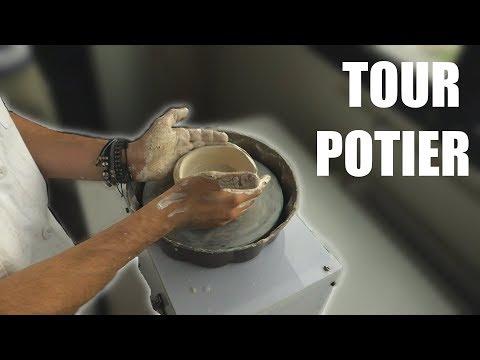 fabriquer-un-tour-de-potier-portable