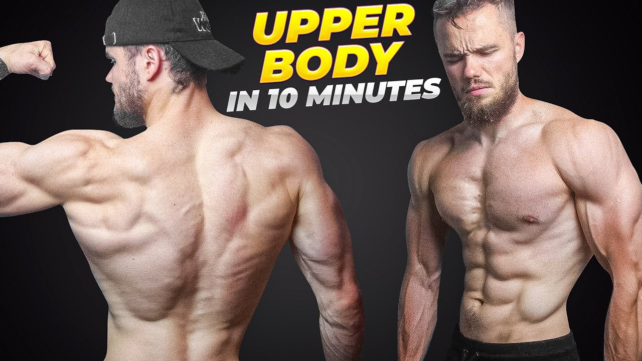 Ultimate UPPER BODY Physique Home Workout (FOLLOW ALONG)
