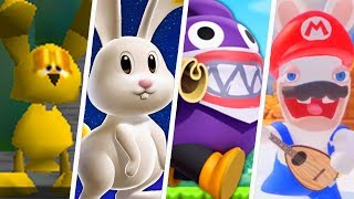 Evolution of Rabbit Characters in Super Mario Games (1992 - 2019)