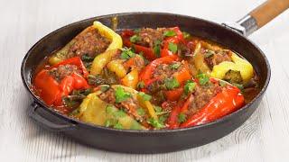 Сезон перца! ФАРШИРОВАННЫЕ ПЕРЦЫ по-турецки, которые пора приготовить! Рецепт от Всегда Вкусно!