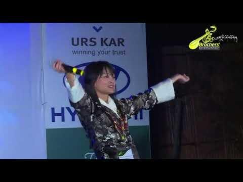 Tibetan musical concert 2015 @ Bylakuppe(Dechen Zangmo)