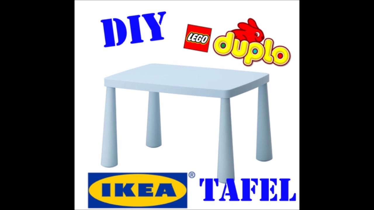 Diy hoe maak je makkelijk en snel een lego duplo tafel for Ikea kinderstoel en tafel