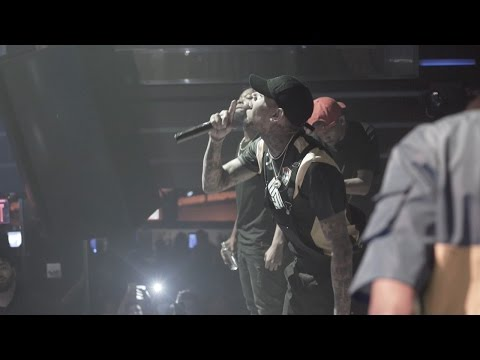 Chris Brown Moses Live Performance at LIV on Sunday