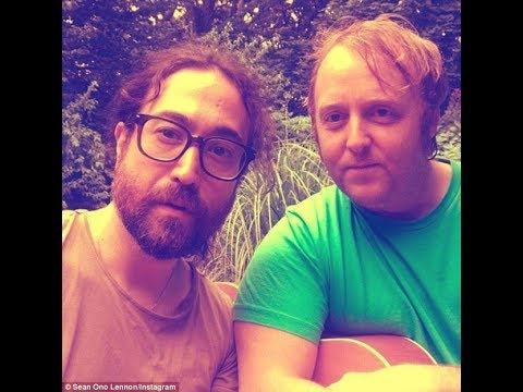 b85340e869f8e John Lennon and Paul McCartney's sons Sean and James 'Come Together' star  dads