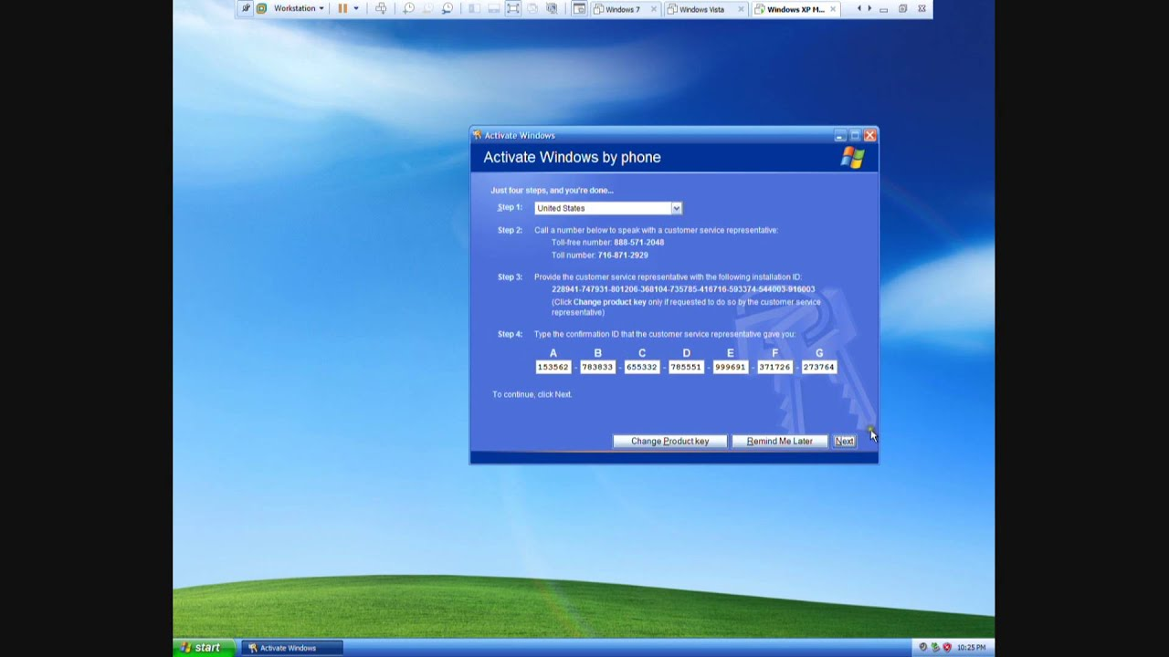 activate windows xp sp3 in safe mode