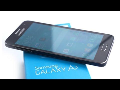Samsung Galaxy A3 Kutudan Çıkıyor