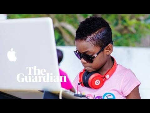 Meet DJ Switch, the 10-year-old drawing crowds in Ghana
