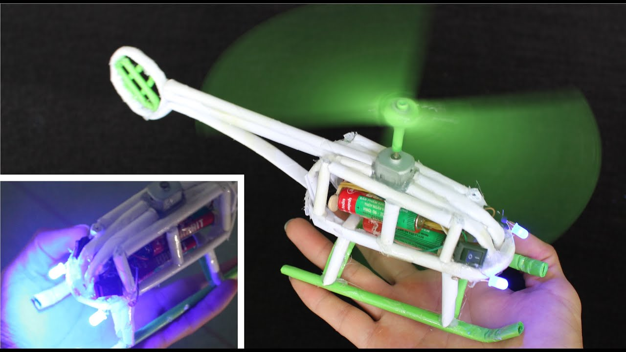 Un Helicoptero Hacer Casero Como Ciberstronic Paso A Ow8nPk0