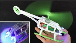 Cómo Hacer Un Helicóptero De Papel Helicóptero Eléctrico Youtube
