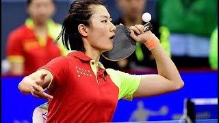 Ding Ning vs Wang Manyu | 2018 Chinese National Games | FINAL