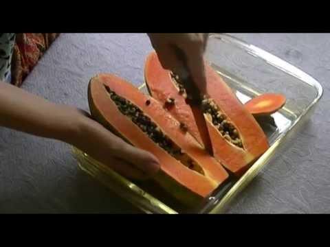 Тропические фрукты Индонезии - Папайя (papaya)