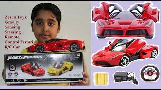 Zest 4 Toyz Gravity Sensing Steering Remote Control Ferrari R/C Car Review | #Arvin