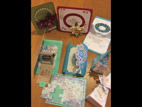 interactive Christmas Cards (Spinning, Sliding, Jigsaw)!