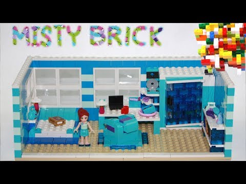 Lego Friends Blue Child Room by Misty Brick.