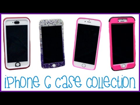 TRY ON IPHONE 6 CASE COLLECTION | Allie Young