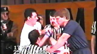 Legendary Armwrestling Event - Part 2 - Golden Bear 1998 - Matches from qualifications + finals