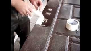 Реставрация дверей  - замена панели МДФ - вырезаем отверстия под замки(Реставрация дверей - замена панели МДФ - вырезаем отверстия под замки http://dveri-spetsstal.ru/restavraciya-dverey-zamena-paneli-mdf., 2015-10-28T07:33:38.000Z)