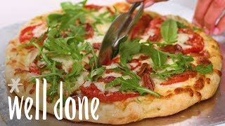 How to Make BLT Pizza with White Sauce | Recipe | Well Done