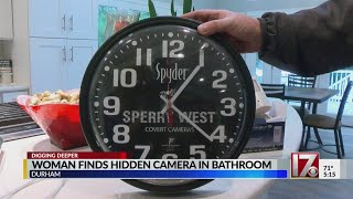 Woman Finds Hidden Camera In Bathroom, Man Charged