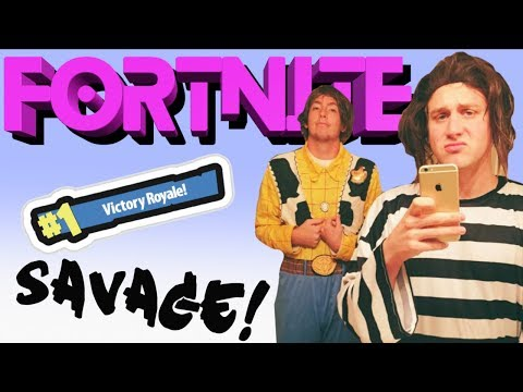 WAITING FOR TILTED TOWERS TO BE DESTROYED! FORTNITE SAVAGE LIVE!