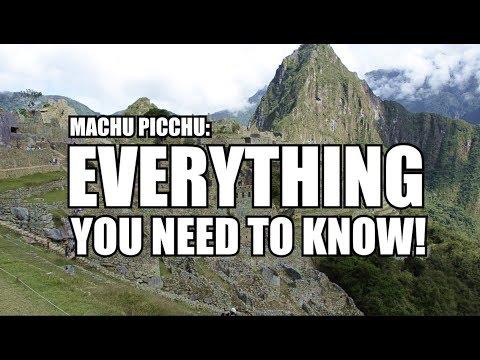How To Get To Machu Picchu