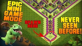 clash of clans   th8 mini game base   epic game mode funny fails friendly challenge 2016