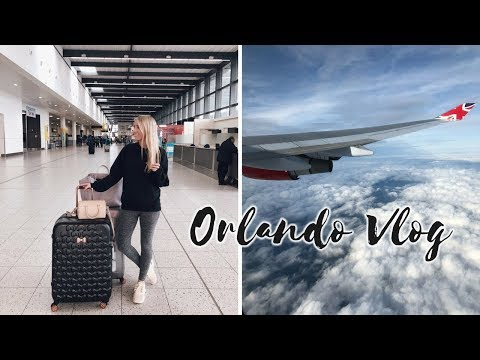 TRAVELLING TO FLORIDA, HILTON ROOM TOUR & FLYING VEGAN WITH VIRGIN – ORLANDO VLOG 1
