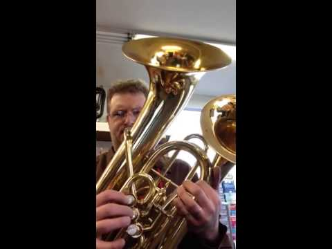 first test doublebell euphonium youtube
