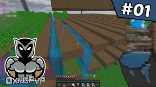 Farming in the First 24 hours of the Map! | OxiusPvP Factions Ice #1 (Minecraft Factions)