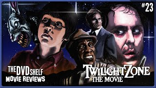 TWILIGHT ZONE: THE MOVIE | The DVD Shelf Movie Reviews(The DVD Shelf Movie Reviews Episode 23 http://happydragonpictures.com http://facebook.com/happydragonpictures http://twitter.com/happydragondave Buy ..., 2013-07-01T22:49:43.000Z)