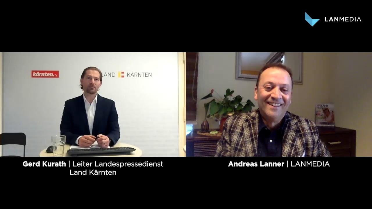 Gerd Kurath | Leiter Landespressedienst Land Kärnten