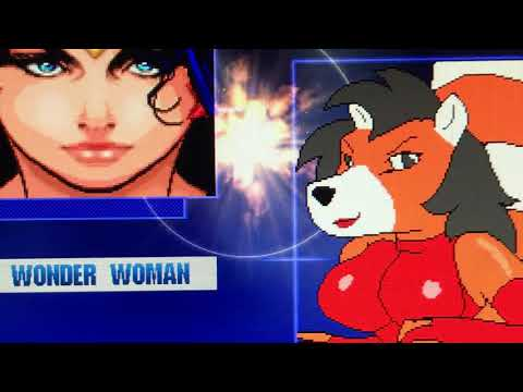 Mugen Wonder Woman And Domino Vs Yammy And Big Booty
