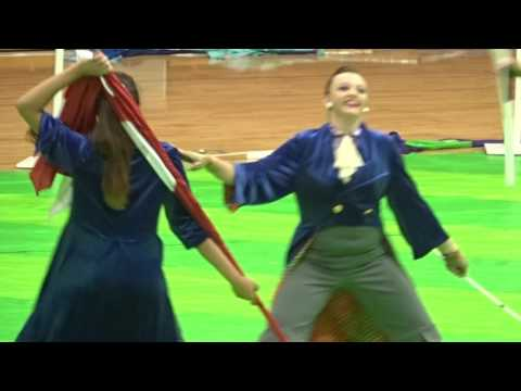 Braden River Colorguard performance 3/31/16