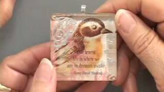 Glass Tile Handmade Jewelry