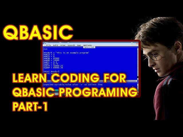 how to learn QBASIC