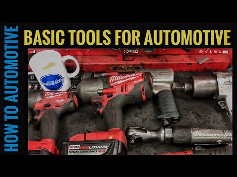 How to Automotive's Recommended Basic Tools for New Automotive Technicians