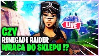 RENEGADE RAIDER WRACA DO SKLEPU !? * ZDOBYWAJ V-DOLCE *   W FORTNITE !