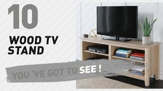 Wood TV Stand // New & Popular 2017