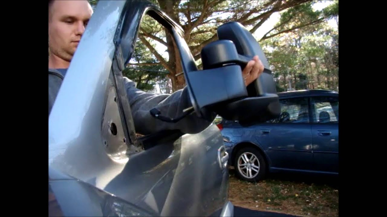 How To Install Towing Mirrors On Chevy Avalanche