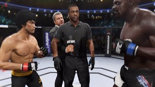 Bruce Lee vs. Terry Crews (EA Sports UFC 2) - CPU vs. CPU