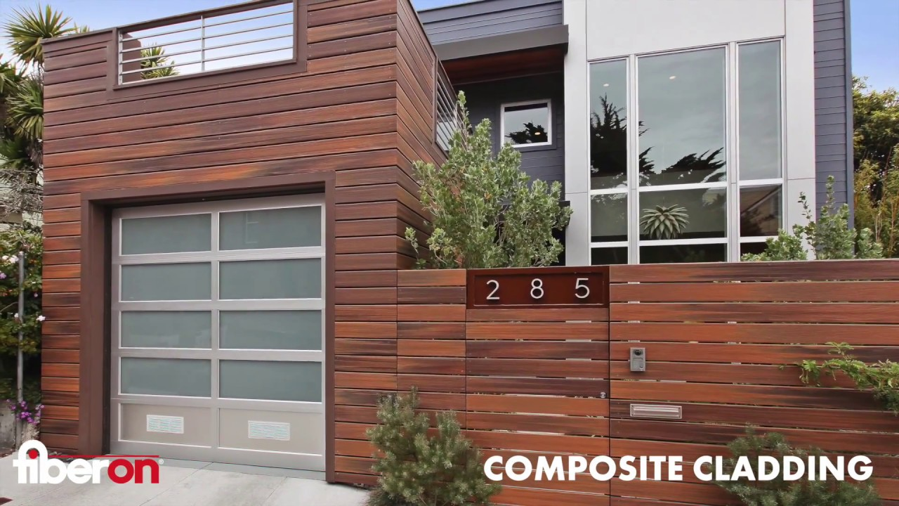 Fiberon Composite Cladding Real Wood Looks Youtube