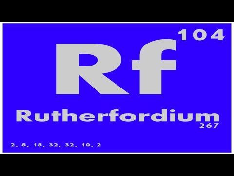 STUDY GUIDE: 104 Rutherfordium | Periodic Table of Elements