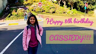 Gambar cover Cassiedy's Tik-Tok Compilation on her 8th Birthday