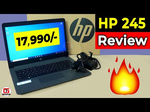 Best Laptop Under 20000 🔥HP 245 6BF83PA Review   Best Laptop for Students Under 20000