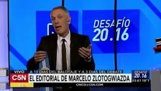 C5N - Desafio 2016: Editorial de Marcelo Zlotogwiazda